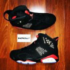 Nike Air Jordan Retro VI 6 Black Infrared 2019 OG 384664-060 Men&GS 4y-13