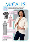 McCall M7511 Paper Sewing Pattern Misses 4-14 ONLY  'Learn to Sew' Hoodie Jacket