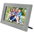 """Life Made Digital Touch-Screen 13"""" Picture Frame with Wi-Fi – All colors - SLRB"""