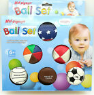 Kids Baby Educational Toy Toddler Soft Rubber Touch Sense Massage Ball 6 Pack