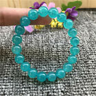 1pcs amazonite Gemstone bracelet natural Healing mala energy Handmade