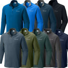 "New Mens Columbia ""Klamath Range"" 1/2 Zip Fleece Pullover Sweaters Sweatshirt"