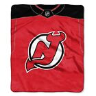 New Jersey Devils 50 x 60 Jersey Raschel Blanket $44.95 USD on eBay