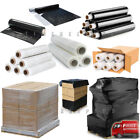 Pallet Stretch Shrink Wraps Black Clear Strong Rolls Parcel Packing Cling Film