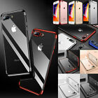 New Luxury Ultra Slim Soft Silicone Clear Case Cover For iPhone 8 7 X 6 6S Plus