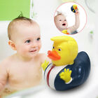 Rubber PVC Squeaky Duck Baby Kids Animals Bathing Floats Toy Bathroom Kids Toys
