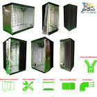 UKNew Indoor Portable Grow Tent Box Silver Mylar Hydroponics Bud Green Room 600D