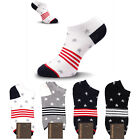 KIKIYA Women Ankle Socks Short Fashion Sneakers Low Cut American Star Lot Cotton