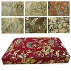 Box Shape Seat/Back Cover*Damask Chenille Chair 3D Cushion Case*Custom Size*Wk2
