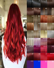 Clip in Hair Extension real Human Feel Ginger Brown Blonde Red Highlight Black