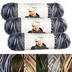 Kyпить 3pk Caron Simply Soft Camo 100% Acrylic Yarn Medium #4 Knit Crochet Skeins Soft на еВаy.соm