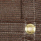 8' x 50' Fence Screen Chain Link Privacy Fence Screen - 87% Knitted Polyethylene