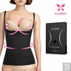 FLASEEK Seekret Open-Bust CAMISOLE Black Seamless Body Shaping Underwear_EC