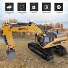 HUINA 1580 1:14 Electric Bulldozer RC Excavator Engineering Truck Car Vehicle A