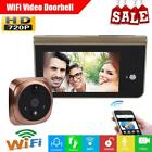 "4.3"" LCD Wireless WiFi Intercom Doorbell HD Video Camera Smart Phone Control"
