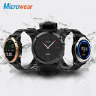 """4GB Microwear H1 3G Smart Sport Watch Phone 1.39""""Android4.4 Dual Core IP68 2.0MP"""