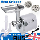 Commercial Electric Meat Grinder Mincer Sausage Filler Maker Stuffer Kitchen