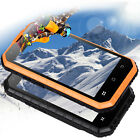 Unlocked Android 6.0 Cell Phone IP68 Rugged Waterproof Quad Core Dual SIM 8GB 3G