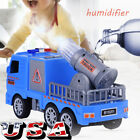 Fire Truck Kids Toy Gift Rescue Fighters Vehicle Lights Sounds Water Pump