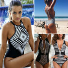 US Women One-Piece Swimsuit Swimwear Push-up Padded Bra Monokini Bikini Bathing $4.59 USD on eBay