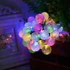 30 Led Solar Globe Bubble String Lights Decorative Lights For Wedding Home Party