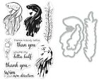 "Внешний вид - Hero Arts ""COLOR LAYERING BETTA FISH"" Clear Stamps Only or Stamp & Dies Bundle"