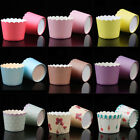 50PCS Paper Cake Liner Muffin Mousse Cupcake Case Cup Baking Wedding Party DIY