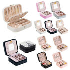 Multi Style Travel Portable Jewellery Box Makeup Organizer Package Storage Case