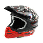 Shoei Red VFX-WR Grant 3 TC-1 MX Helmet