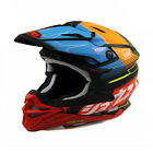 Shoei Red VFX-WR Zinger TC10 MX Helmet