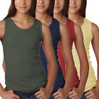 Girls Cotton Tank Top, Little Girls' Ribbed Tank Top Pack of 2