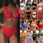 NEW Women High Waist Bikini Set Push Up Swimsuit Bathing Suit Beach Swimwear Lot $11.03 USD on eBay