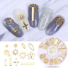 3D Nagel Dekorations Mixed Size Strasssteinchen Metal Rivet DIY Nail Dekors