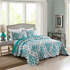 3 Pcs Lightweight Quilt King Printed Quilt Set Bedding Lightweight Oversize A17 image