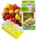 Baby Weaning Food Pots Freezer Tubs Stacking Tray Cubes Containers BPA Free