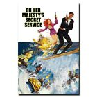 On Her Majesty's Secret Service 12x18 24x36inch Classic Movie Silk Poster Hot $8.01 CAD on eBay