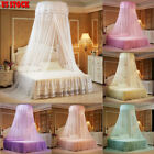 Vintage Round Lace Insect Bed Canopy Netting Curtain Dome Mosquito Net Elegant image