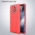 Ultra Thin Luxury PU Leather Soft TPU Shockproof Case Cover For Nokia 9 PureView