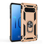 Hard Case with 360° Magnet Ring Stand Holder Cover For Samsung Galaxy S10 Plus