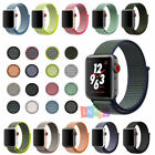 38/42mm 40/44mm Nylon Sport Loop iWatch Band Strap For Apple Watch 4 3 2 1