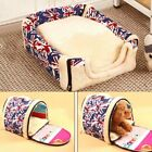 Pet Cat Dog Nest Cave Bed Puppy Comfort Bed House Travel Kennels Sleeping Mat