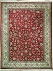Burgundy Traditional Traditional Handmade Area Rug 10x12 Pre-Owned Indian Rug