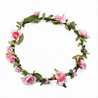 Flower Garland Headband Festival Floral Crown Boho Wedding Bridesmaid New H-made