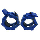 1 Pair 2 Inch Lock Buckle Olympic Barbell Clamps Weightlifting Rod Accessories