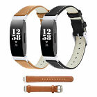 Genuine Leather Replacement Wristband Watch Band Strap for Fitbit Inspire