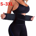 HOT Waist Trainer For Women Men Sauna Sweat Thermo Yoga Sport Shaper Belt Slim