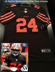 NEW Nick Chubb Cleveland Browns Men's Home Rush Style Jersey Mayfield Beckham on eBay