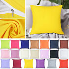 Size 40x40 Cotton Soft Solid Color Throw Pillow Sofa Waist Couch cushion US image