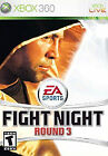 BRAND NEW SEALED FIGHT NIGHT ROUND 3 for XBOX 360  GAME of BOXING FAST SHIP