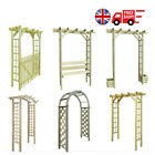 Impregnated Wood Arbour Rose Flower Climbing Arch Garden Gate Pergola Archway UK